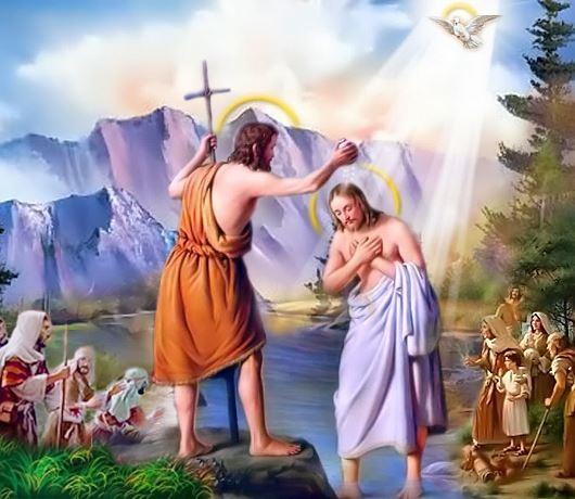Suy Niệm Lễ Chúa Giêsu Chịu Phép Rửa