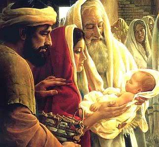 """Thứ Bảy Trong Tuần Bát Nhật Giáng Sinh CTin mừng Lc 2: 22-35: Khi ông được gặp gỡ, bồng ẵm Chúa Giêsu trên tay mình và thốt lên: """"Vì chính mắt con đã thấy ơn cứu độ mà Chúa đã sắm sẵn trước mặt muôn dân. Ánh sáng đã chiếu soi các lương"""