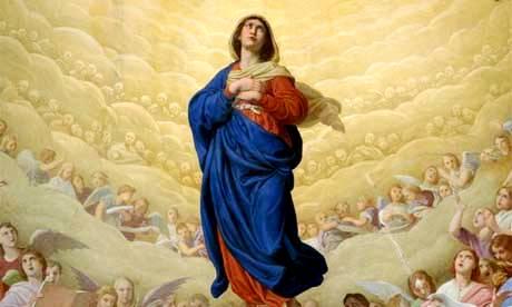 Tin Mừng Lễ Đức Mẹ Lên Trời