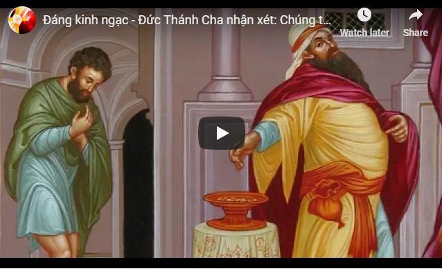 Đức Thánh Cha nhận xét: Chúng ta đã quá hiểu nhầm những